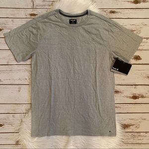 HURLEY STRIPED SHORT SLEEVE TEE MEDIUM NWT